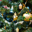 Stock Photo: Christmas decorations on the Christmas Tree