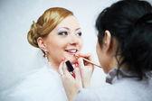 Bridal make-up — Stock Photo