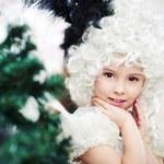 Little girl in carnival costume — Stock Photo #37504125