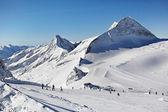 Mountains ski resort - Alps Austria — Stock Photo