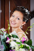 Happy funny bride — Stock Photo