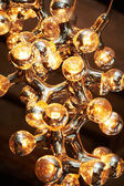 Lamp abstraction of structure of molecule — Stock Photo
