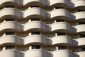 Balconies modern resort hotel business — Stockfoto