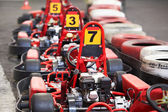 Machine karting — Foto de Stock