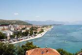 Bela paisagem do mar Mediterrâneo — Fotografia Stock