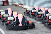 Machine karting — Stock Photo