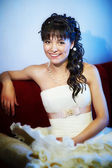Happy bride — Stockfoto