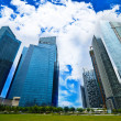 Buildings in Singapore — Stock Photo