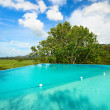 Infinity swimming pool — Foto Stock