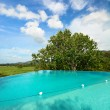 Infinity swimming pool — Foto de Stock