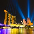 Marina Bay Sands Hotel in Singapore — Stock Photo