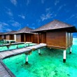 Water villa house in Maldives — Stock Photo #32883253