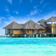 Water villa house in Maldives — Stock Photo #32883297