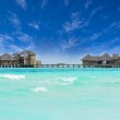 Water villa house in Maldives — Stock Photo #32883497