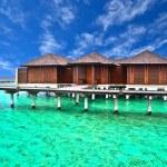 Water villa house in Maldives — Stock Photo #32883665