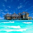 Water villa house in Maldives — Stock Photo #32884377