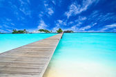 Path to beautiful island — Stock Photo