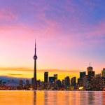 Toronto Skyline — Stock Photo