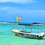Boat on sea — Stock Photo