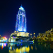 Address Hotel and Lake Burj Dubai — Stock Photo