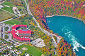 Niagara falls antenowe — Zdjęcie stockowe