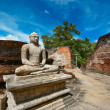 Ruins in Polonnaruwa city in Sri Lanka — Photo