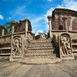 ruins in polonnaruwa city in sri lanka — Stock Photo