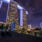 Marina Bay Sands in Singapore — Stock Photo