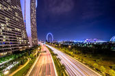 Marina bay sands v Singapuru — Stock fotografie
