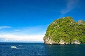 Paisagem bela praia na tailândia — Foto Stock