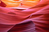 Antelope canyon in Arizona — Stock Photo