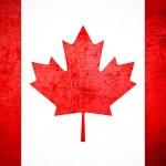 Vintage Canada Flag — Stock Photo