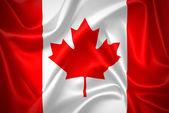 Canada waving flag — Stock Photo