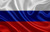 Waving flag of Russian Federation — Stock Photo