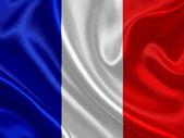 France waving flag — Stock Photo