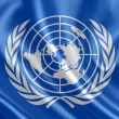 Flag of United Nations — Stock Photo #36155277