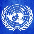 United Nations flag — Foto de Stock