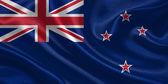 Australia waving flag — Stock Photo