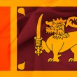 Sri Lanka waving flag — Stock Photo