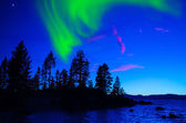Northern Lights, Aurora Borealis — Stock Photo