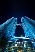 View of The Petronas Twin Towers — Stock Photo