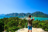 Phi phi view point — Stock Photo