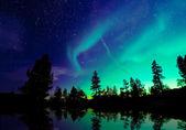 Luzes do Norte — Fotografia Stock