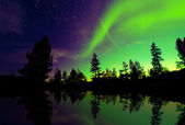Northern lights — Stock Photo