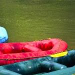 Water rafting boats — Stock Photo #45430433