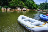 Water rafting boats — Stock Photo