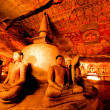 Buddha statues in Dambulla Cave Temple — Stock Photo #45921925