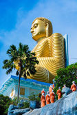 Golden Buddha statue — Stock Photo