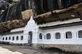 Cave temple in Dambulla — Стоковое фото