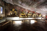 Buddhas at Cave temple — Stock Photo